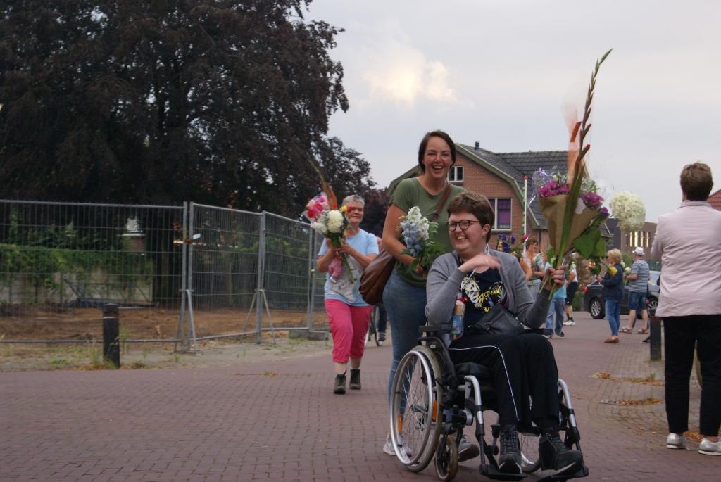 Blijdschap bij de binnenkomst. Foto: Eva Schipper  © Achterhoek Nieuws b.v.