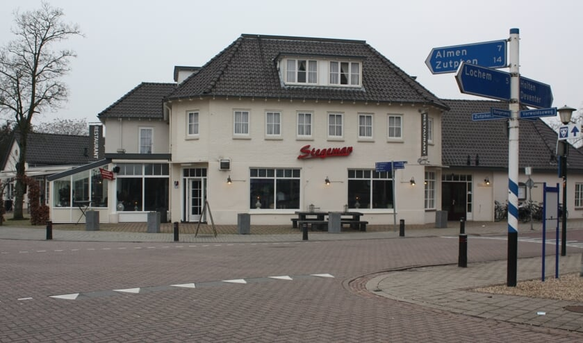 Café-restaurant Stegeman sluit voor onbepaalde tijd de deuren. Foto: Arjen Dieperink
