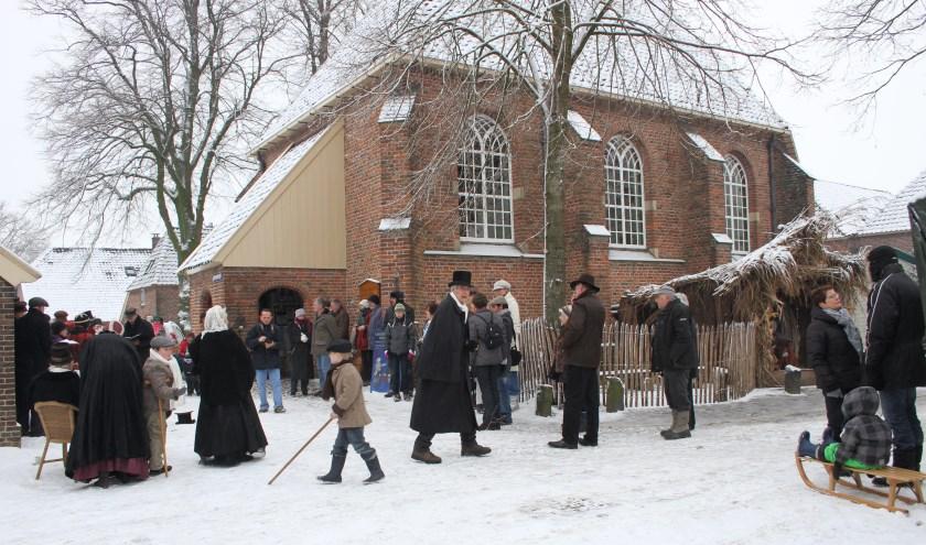 Kerstfair Bronkhorst wordt gehouden op 19 en 20 december. Foto: Liesbeth Spaansen