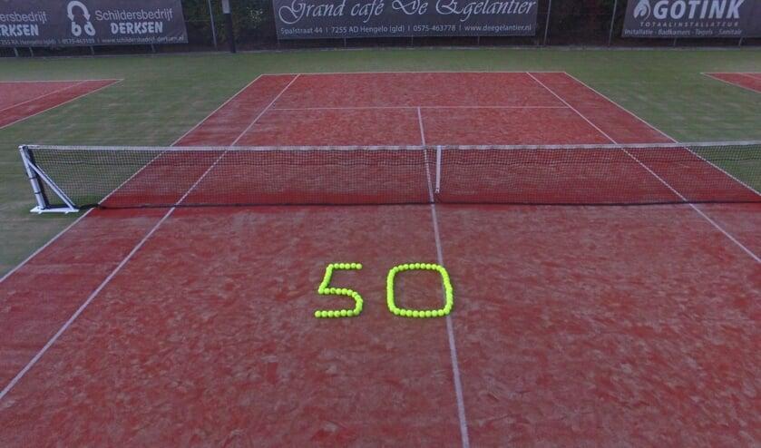 Lawn Tennis Club Het Elderink viert vijftigjarig bestaan. Foto: PR