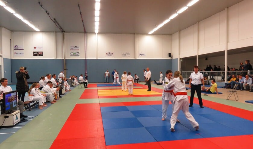 Ere werd flink gestreden op de judomatten. Foto: PR