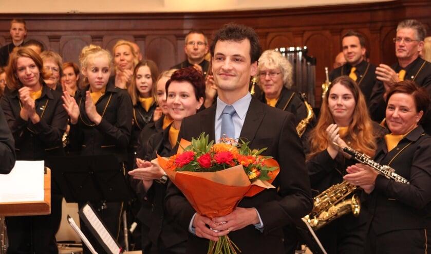 In het slotwoord werd Berjan Morsink bedankt voor zijn inzet. Foto: PR