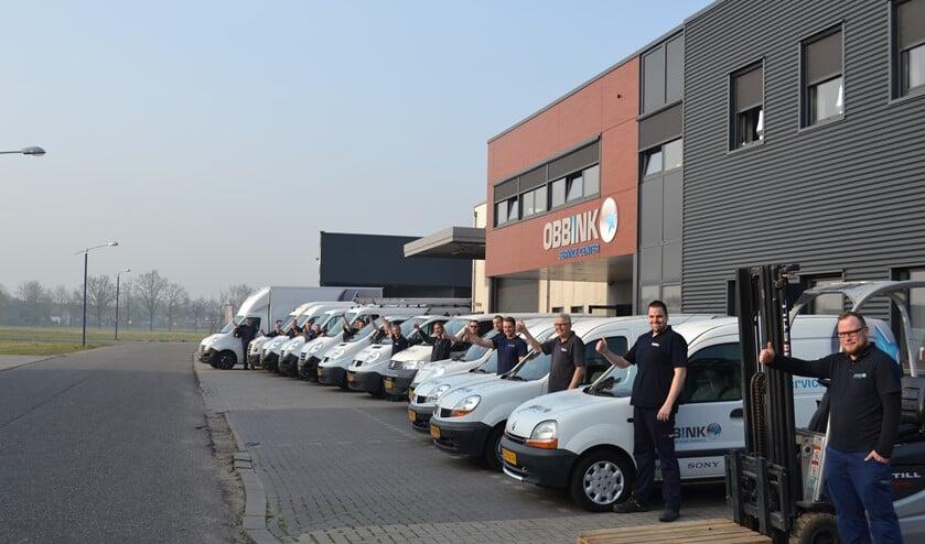 Het servicecenter van Obbink in Lichtenvoorde. Foto: PR