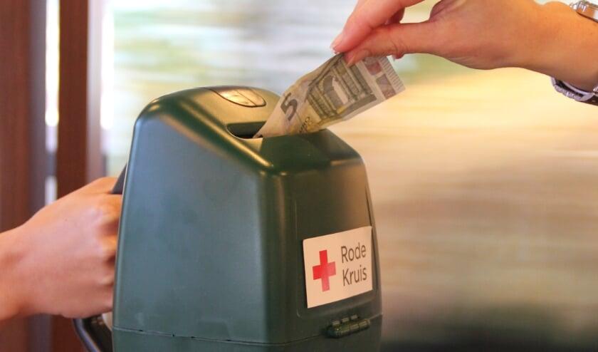 <p>Collecte voor Rode Kruis heeft in 2021 een prachtig bedrag opgebracht. Foto: PR</p>