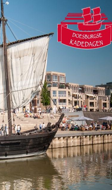De Doesburgse Kade als festivalterrein. Foto: PR