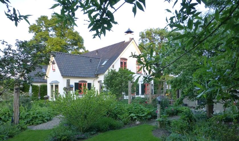 De tuin van de familie Vlogman. Foto: Henny Vlogman