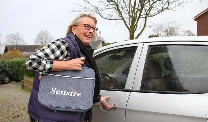 Diny Bulten werkte bijna 45 jaar in de zorg, waarvan 25 jaar bij Sensire. Foto: Liesbeth Spaansen