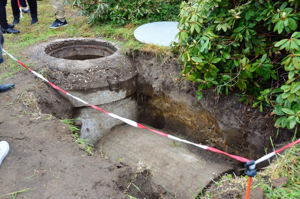 De kleine bunker waar op 5 april 1945 het levenloze lichaam van Corporaal Morgan werd aangetroffen. Foto: Alize Hillebrink Foto: Alize Hillebrink © Achterhoek Nieuws b.v.