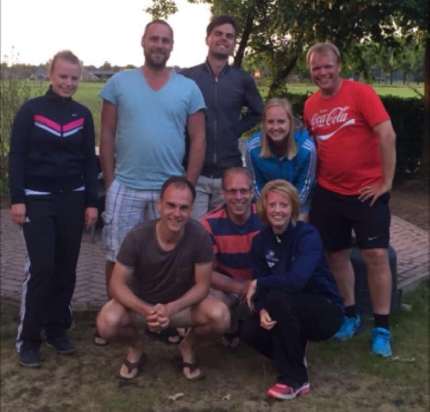 Eerste mixteam VTP Vorden behaalde tweede plaats. Foto: PR