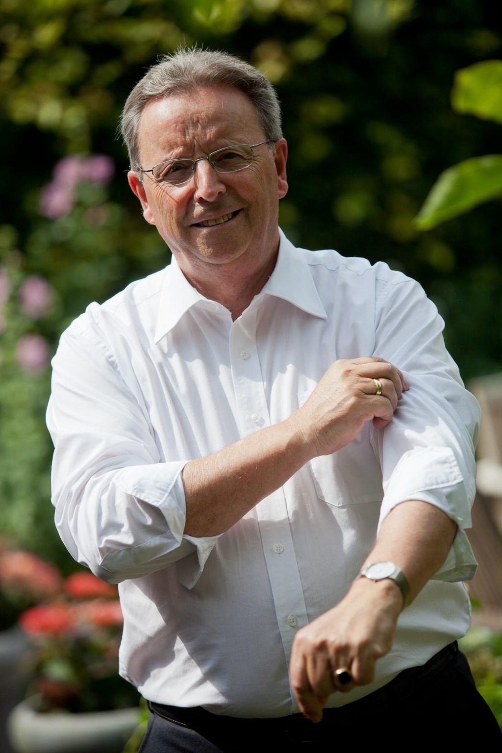 Plv. voorzitter IKB Rinus Smet stroopt alvast de mouwen op voor een duurzaam ondernemend Berkelland.Foto: Guido Bogert Fotografie