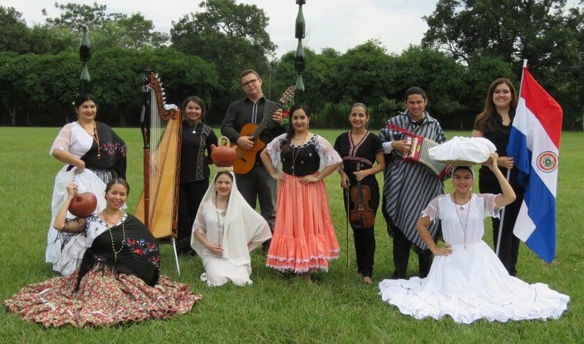 Alma Guarani, een dansgroep uit Paraguay treedt ook op. Foto: PR.