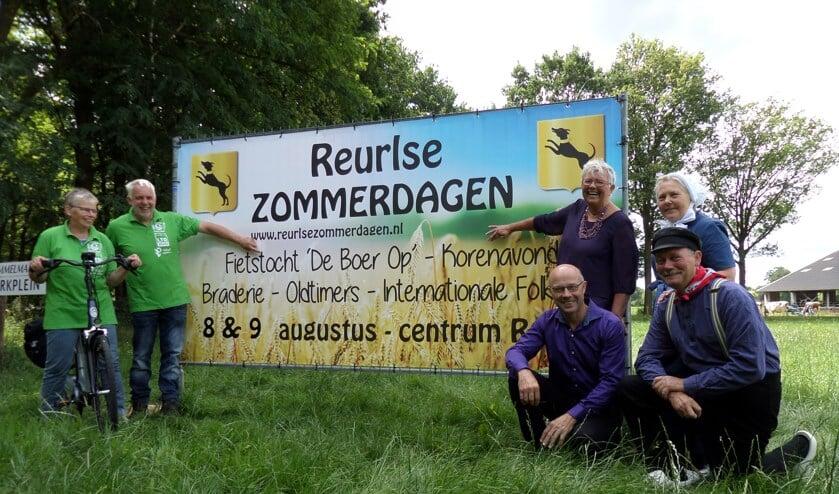 De eerste editie van de 'Reurlse Zommerdagen' beloven volgens de organisatoren gezellig te worden. Foto: PR.