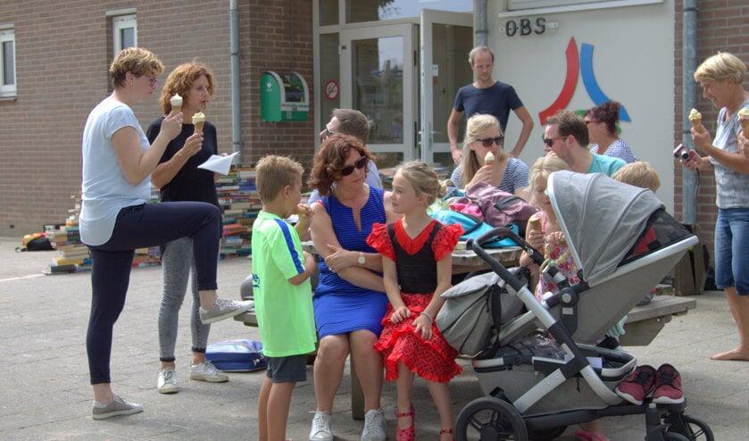 Het thema van het afscheid van 'juf' Stien Timmermans was 'sprookjes'. Foto: PR.