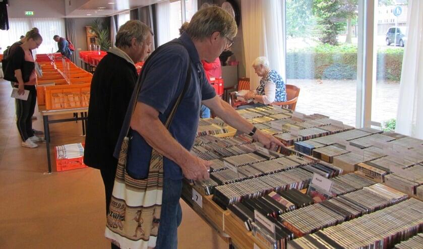 Boeken en platenbeurs in Antoniushove. Foto: archief Achterhoek Nieuws