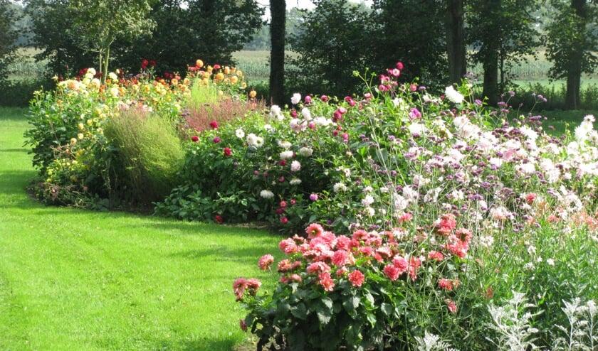 Nog steeds is er veel kleurenpracht te bewonderen in de tuinen. Foto: PR