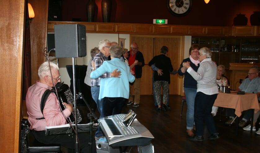 Dick Wagenvoort  zorgde voor dansmuziek. Foto: Marijke Cornelis