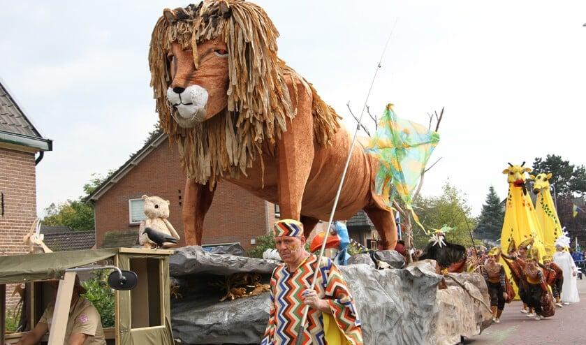 De winnende Lion King van bouwgroep Eureka. Foto: Achterhoekfoto.nl/Liesbeth Spaansen