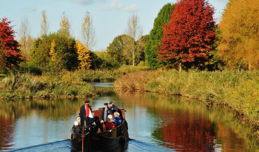 Varen op de Berkel in de herfst: mooie plaatjes. Foto: PR