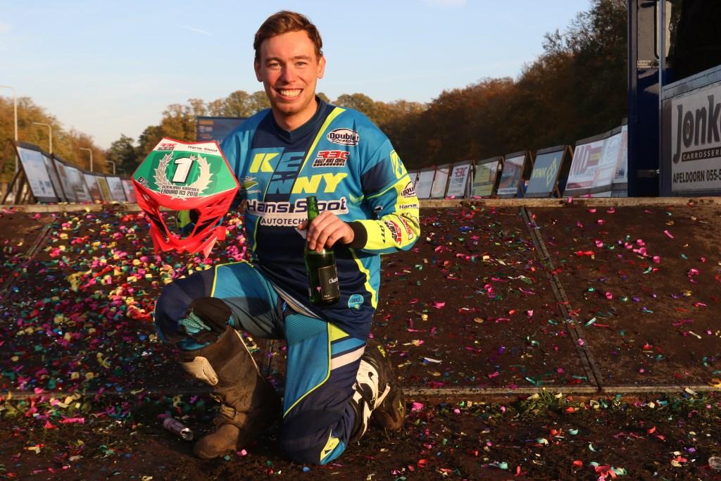 Ruben Wagelaar kampioen N3. Foto: Henk Teerink  © Achterhoek Nieuws b.v.