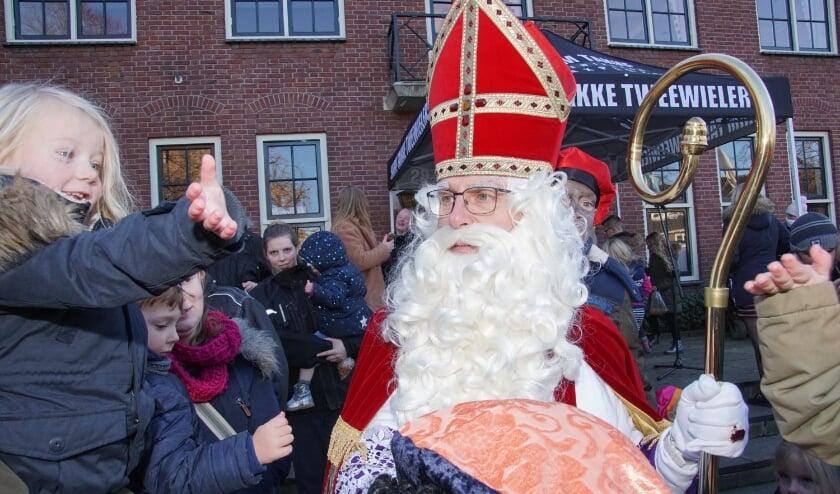 Geen traditioneel welkom voor de Sint in Dinxperlo. Foto: Frank Vinkenvleugel