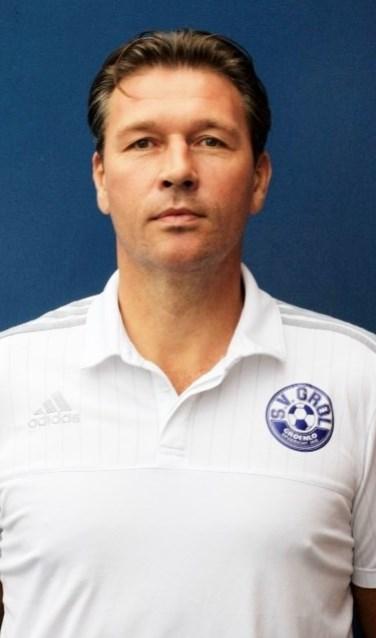 Sander Hoopman, trainer van SV Grol. Foto: PR