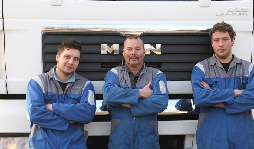 Vlnr: Robin Tieltjes, Martin Hegeman en Rob Reukers. Foto: Annekée Cuppers