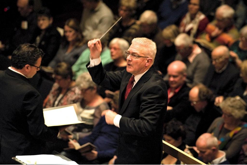 Dit jaar is de elfde Matthäus Passion onder leiding van dirigent Hans Lamers. Foto: Rein Lammers)  © Achterhoek Nieuws b.v.