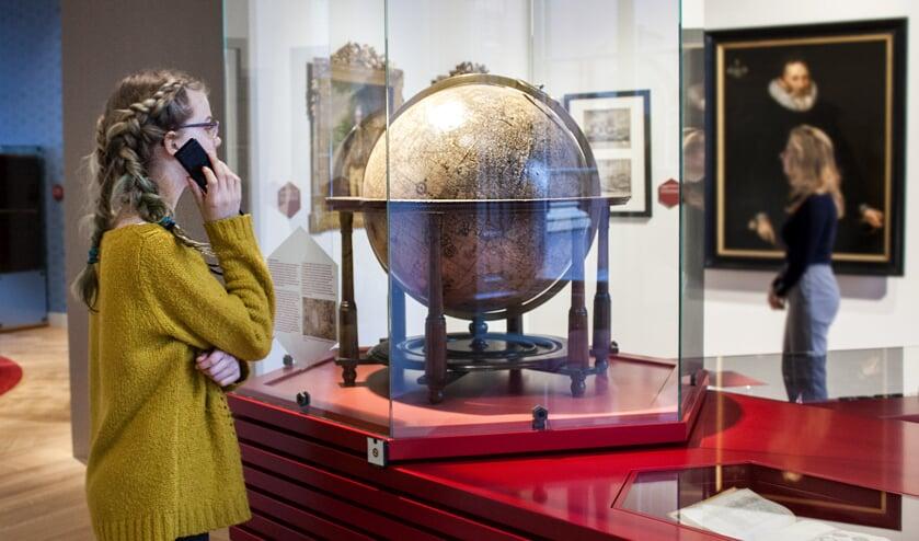 De gratis audiotour neemt bezoekers mee langs alle topstukken van de vaste collectie presentaties.Foto: PR