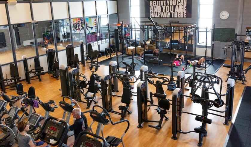 De fitnessruimte van Gelre Sports. Foto: Photography by Jorieke Philippi