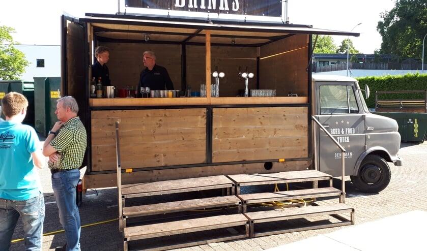 De Beer & Food-truck van Beneman. Foto: PR
