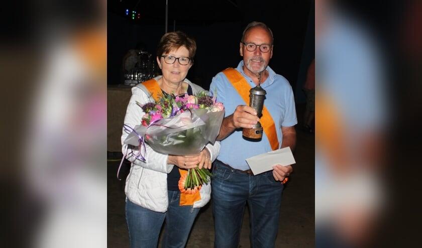 Het nieuwe koningspaar van Delden: Henk en Gerrie Groot Roessink. Foto: PR.