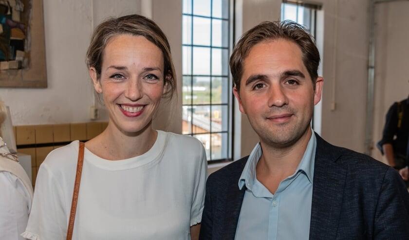 Willemijn Voorham en Armijn van Roon, oprichters Buddy to Buddy. Foto: Henk Derksen