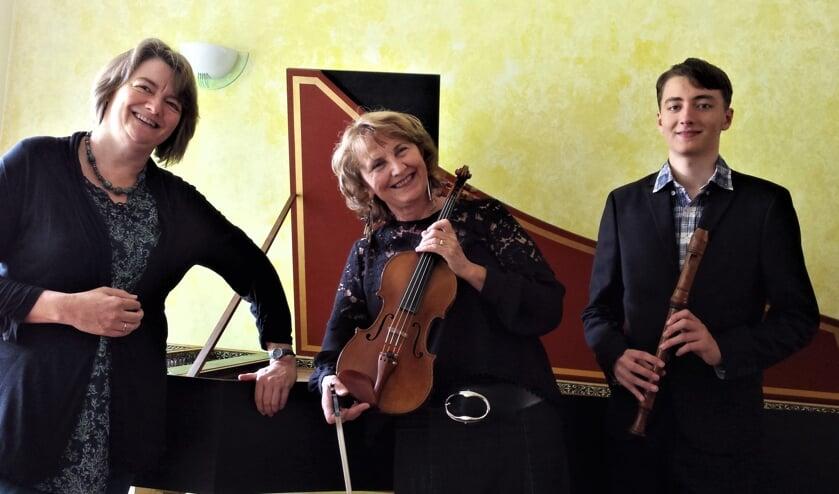 Susanne Paulsen, Michaela Hollmannová en Laurens Paulsen. Foto: PR