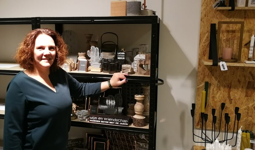 Martine Makkink in haar nieuwe Conceptstore Living by ME. Foto: Rob Weeber