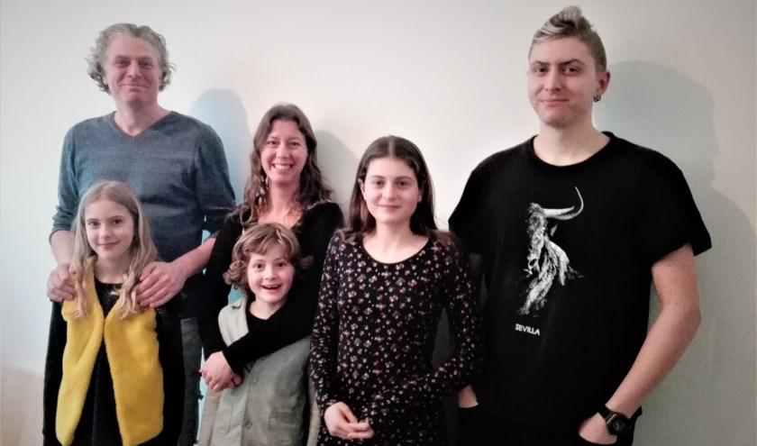 De familie Schutte - Van Schaijk. Foto: Mirjam van Biemen