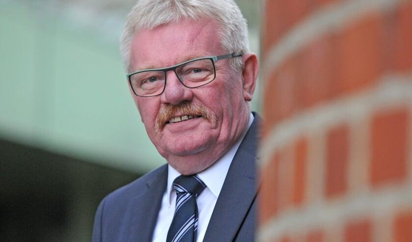 Peter Nebelo, burgemeester van Bocholt.  Foto: Bruno Wansing