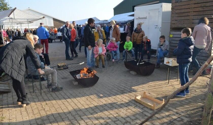 Activiteiten voor de kinderen tijdens de Achterhoekse Streekmarkt. Foto: PR