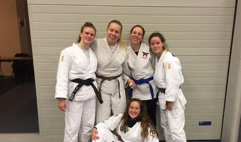 Team Nippon judo Achterhoek behaalde mooie resultaten op de Nijmeegse Kampioenschappen judo. Foto: PR