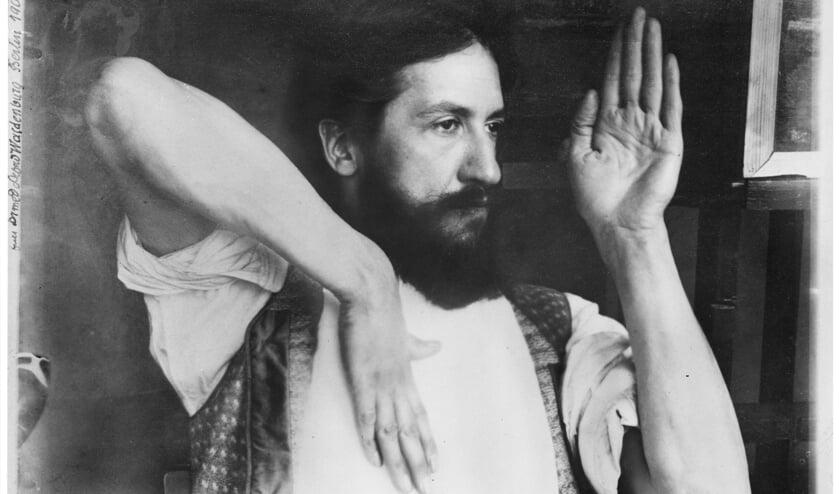 Piet Mondriaan, lente 1909. Foto:Alfred Waldenburg. Coll. RKD.