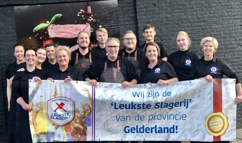 Het team van Keurslagerij Kuenen. Foto: PR