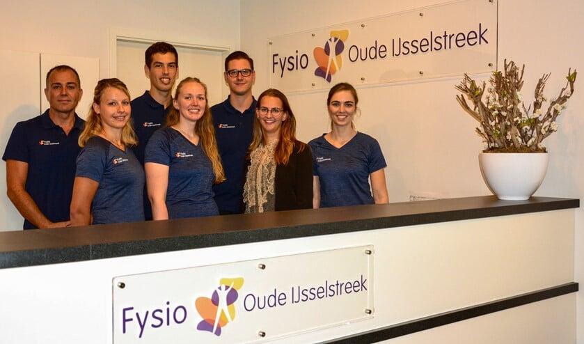 Het team van Fysio Oude IJsselstreek. Foto: PR