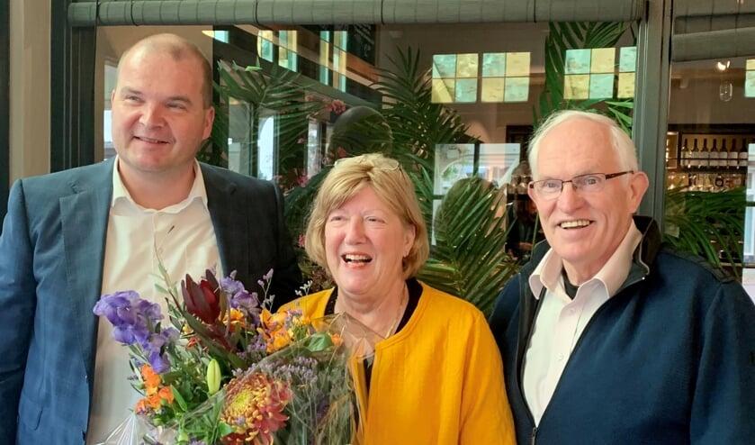 Vlnr: Aernoud Hage (Thoma), Carolien van Poecke-Bosvelt (De Boei) en Bert van Poecke (De Boei). Foto: PR