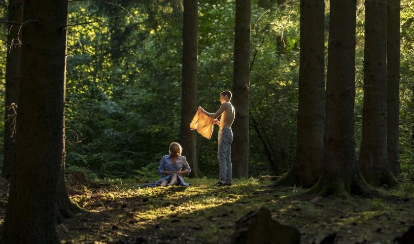 Rollebollen met stiefzoon, in Queen of Hearts. Foto: Rolf Konow
