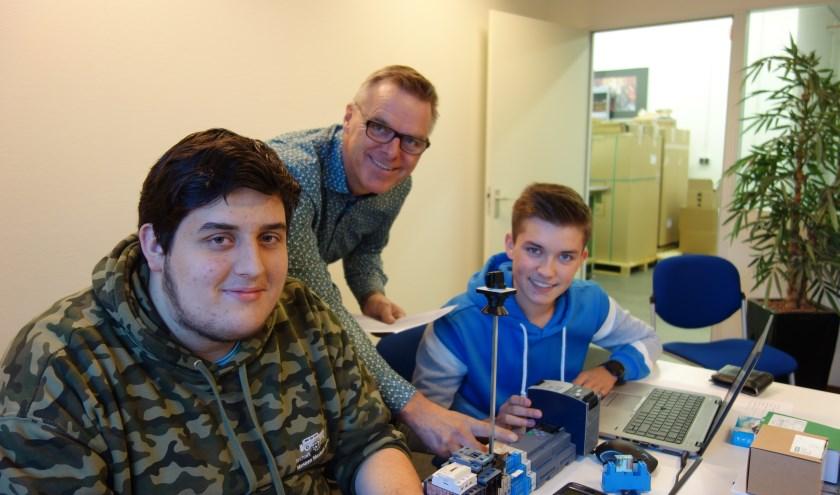 Van li naar re Alexander Otto, Peter Postma en Justin Petter. Foto: Clemens Bielen