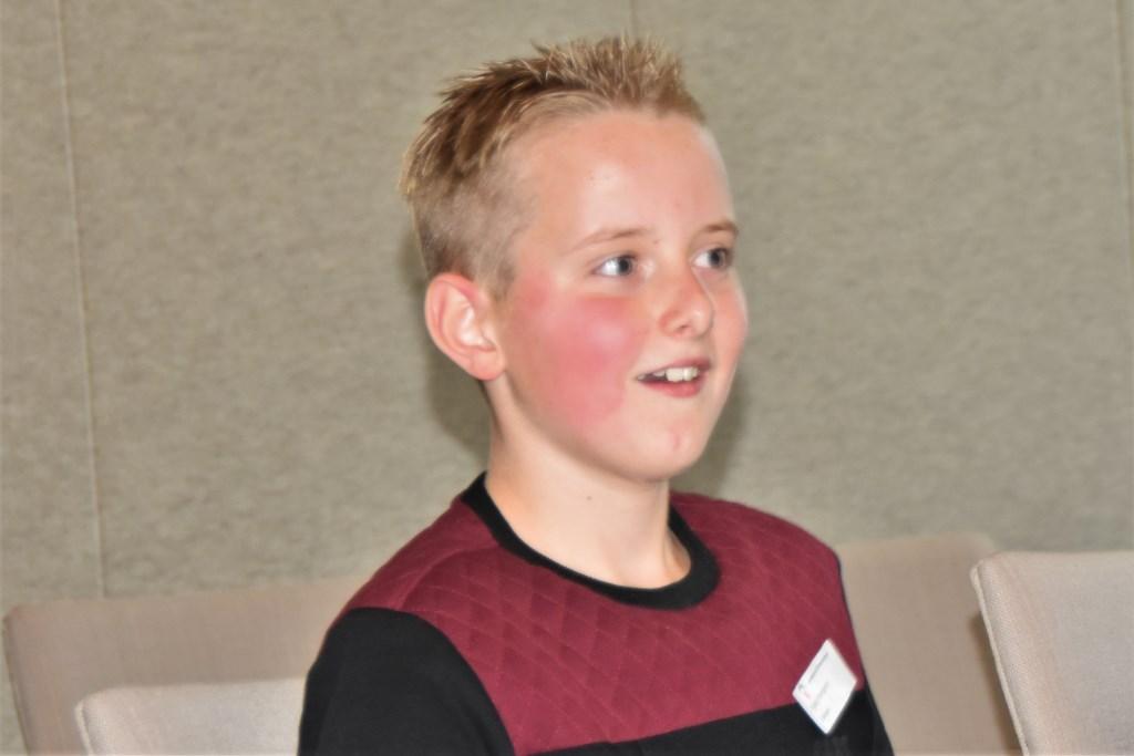 Wie? Ik? Ongeloof op het gezicht van Kjeld. Foto: Alice Rouwhorst  © Achterhoek Nieuws b.v.