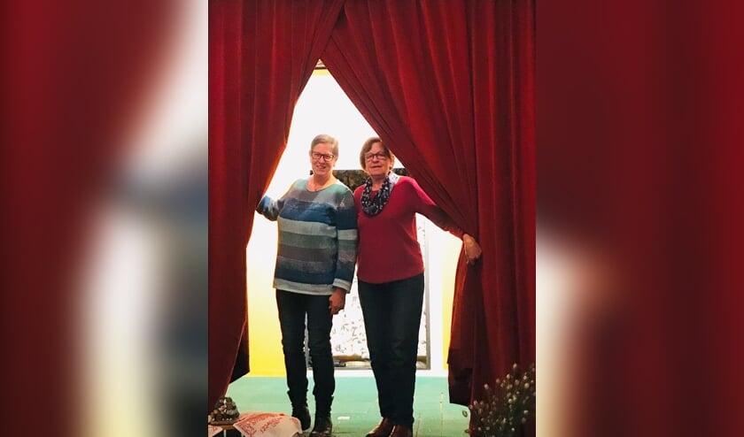 Erna Rouhof en Hermien Luttikhedde. Foto: PR