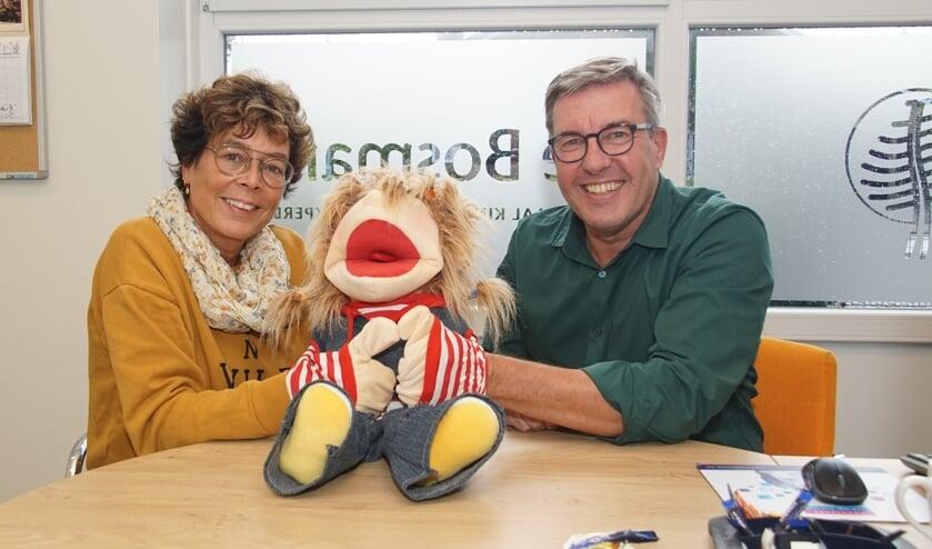 Carin Stavast-Munters en Jan van der Horst. Foto: Frank Vinkenvleugel