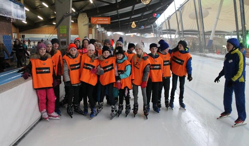 Borculose Kids on Ice: elk jaar een succes.Foto: PR
