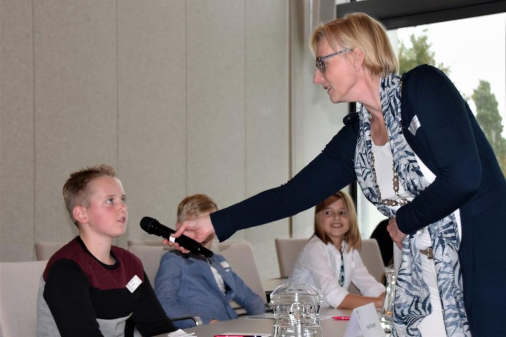 Kjeld heeft op alle vragen een duidelijk antwoord. Foto: Alice Rouwhorst  © Achterhoek Nieuws b.v.