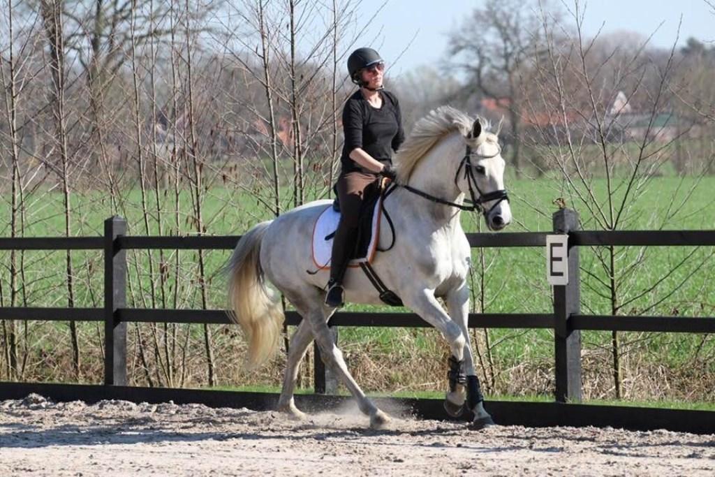 Truus Siebelink met Cantodea. Foto: eigen foto Foto: eigen foto © Achterhoek Nieuws b.v.